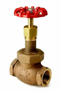1 United Brass Industrial Globe Valve Model 81t 200wsp 400 Wog Usa