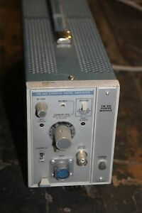 Tektronix Power Module With Am503 Current Probe Amplifier