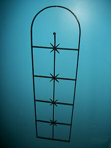 Antique Wrought Iron Fence Richmond Va Estate Gate Metal Art Victorian Primitive