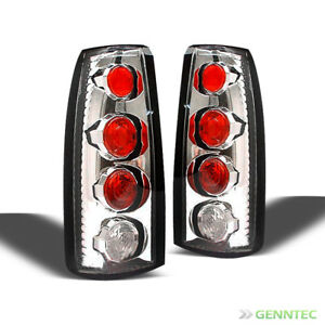 For 88 98 Silverado Sierra Altezza Clear Tail Lights Lamps Brand New L R