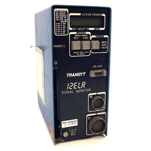 Transyt Signal Monitor Traffic Control Model 12elr