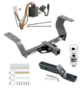Trailer Tow Hitch For 14 18 Subaru Forester Complete Package W Wir
