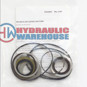 White Hydraulic Motor Roller Stator Seal Packing Kit 200222001 For Rs 200 Series