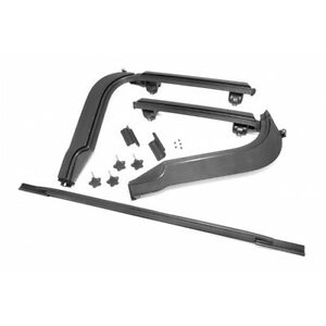 1997 2006 Jeep Wrangler Unlimited Soft Top Door Surround Frame Rear Bar Kit