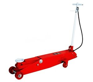 Heavy Gauge Steel Shop 5 Ton Long Chassis Air Hydraulic Service Jack Truck Bus