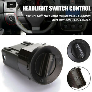 Headlight Switch Control For Vw Gti Jetta Golf Mk4 Passat B5 Beetle Sharan Euro