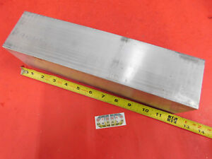 4 Pieces 3 X 3 Aluminum 6061 Square Solid Bar 12 Long T6511 Flat Mill Stock