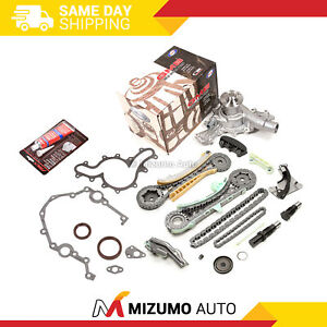 Timing Chain Kit Timing Cover Gaskets Water Pump Seals Fit 97 11 Ford 4 0 V6