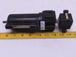 T53 02w Coalescing Filter W sight Gauge Drain Slide Valve Shut of