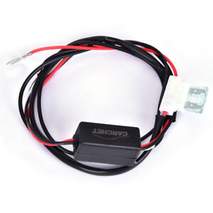 Auto Car Led Daytime Running Light Drl Relay Harness On Off Switch Controller