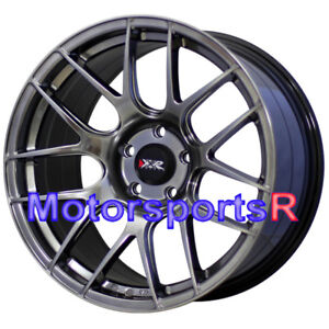 Xxr 530 S Chromium Black 18 18x9 75 20 Rims Wheels 08 14 Mitsubishi Evolution X