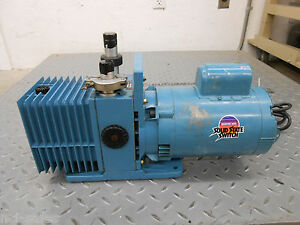 Precision Vacuum Pump Dd 90 With Franklin Electric 1 2 Hp 1102685403 Motor