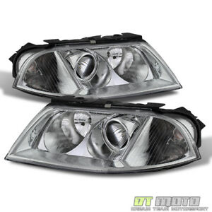 2001 2005 Vw Passat Replacement Projector Headlights Headlamps Pair Left Right