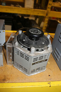 Adjust a volt Variac Variable Transformer Standard Electrical 1500b 115v