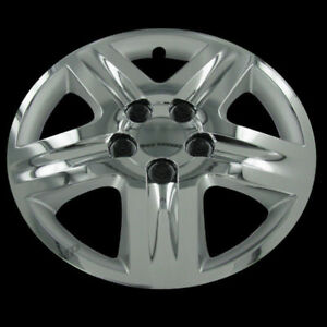 Set Of Four 16 Chrome Hubcaps Hub Caps Rim Covers For 2006 13 Chevy Impala