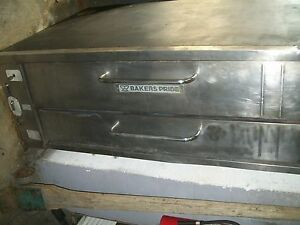 Pizza Oven Bakers Pride Stones Oven Gas 1 Deck legs 900 Items On E Bay
