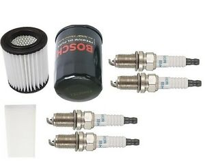 For Acura Rsx 02 06 Type s Plugs Tune Up Kit Oil Filter Cabin Denso Bosch