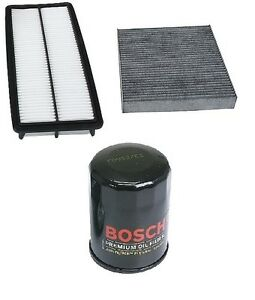 For Honda Accord 03 07 3 0 Tune Up Kit Filters Opparts Air Cabin Air Bosch Oil
