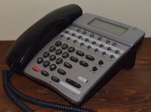 Nec Dterm 80 Telephone Dth 16d 2 bk tel 780575 Black Lcd Tested 1 Year Warranty