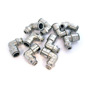 Lot Of 10 Camozzi Swivel Male Elbow Connector P6520 08 04