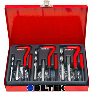 New Professional 89pc Helicoil Thread rethread Repair Kit set M6 M8 M10 Metric
