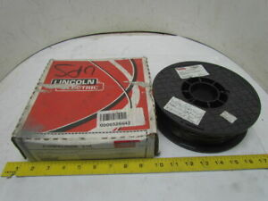 Lincoln Pipeliner 81m Gas Shielded Cored Welding Wire E81t1 0 047 2 rolls 18lbs