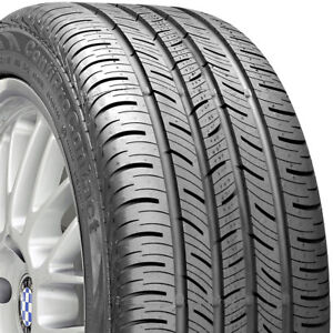 1 New 215 45 17 Continental Pro Contact 45r R17 Tire 26377