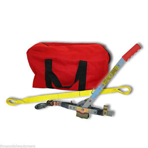 Arborist Combo W 8 Strap Large Gear Bag Core Tree Strap long Haul Rope Puller