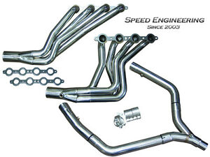 Speed Engineering Ls1 Camaro Firebird Headers Y Pipe 1 7 8 Race Version F Body