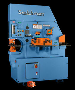 Scotchman Fi 8510 20m Ironworker Made In Usa