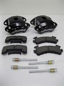 Wilwood D154 Front Caliper Kit Black Powder Coated Caliper 140 12099 Bk W Pads