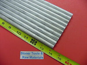 10 Pieces 7 16 6061 Aluminum Round Cold Finish 14 Long T6 4375 Lathe Stock