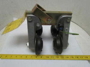 Rose 506266 Beamglide Trolley Fall Protection 560lb Max 4 Beam Sz W06