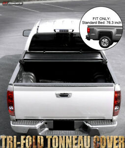 Tri Fold Soft Tonneau Cover For 2009 2019 Dodge Ram 1500 2500 3500 6 4 6 5 Bed