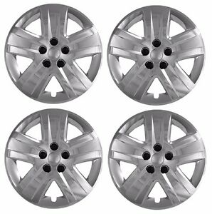 New 2010 2011 Chevy Impala 17 Wheelcover Hubcaps Chrome Bolt on Set