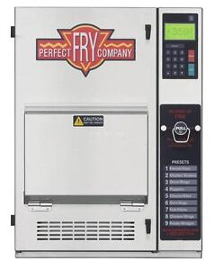 Perfect Fry Company Pfc5700 Ventless Hoodless Countertop Deep Fryer 5 7kw 240v