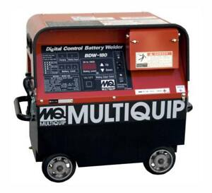 Multiquip Bdw180mc Welder 180a Rechargable Battery Portable Dc Powered