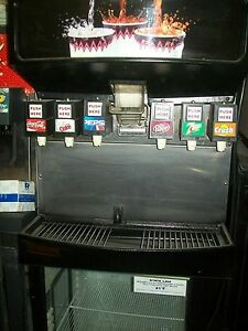Soda ice Dispensing Machine Coutner Top 6 Heads Complete 900 Items On E Bay