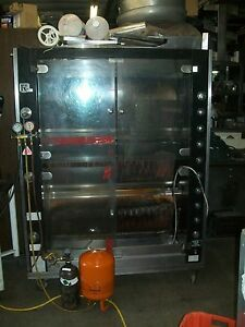 Chicken Rotesseri Made In France Rotisol 1350 8 gas Unit 900 Items On E Bay