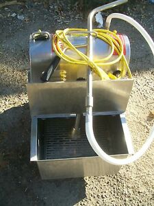 Oil grease Filteration Machine S steel Tank 115v Ready 899 Items On E Bay