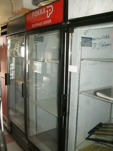 Glass Door Cooler Bev Air Mt 27 115v 3 Shelves Wide 900 Items On E Bay