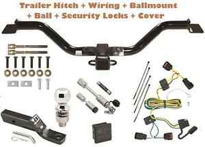 08 12 Chevy Traverse Trailer Tow Hitch Pkg Deluxe W Wiring Hitch Locks