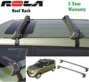 Rola Custom Fit Aluminum 110lb Roof Rack Fits 10 13 Kia Soul 5 Year Warranty