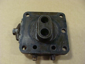 Ford Tractor Original Oem Hydraulic Lift Pump Valve Chamber Complete 8n 9n 2n