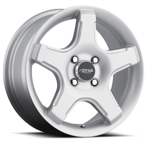 2 15x6 5 38 4x114 Mb 14 Silver Wheels Rims 15 Inch 75903