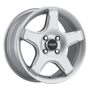 Set 4 15x6 5 38 4x114 Mb 14 Silver Wheels Rims 15 Inch 75903