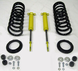 Mustang Ii Front End Suspension 425 Lb Spring Monroe Shock Kit Tubular A arms