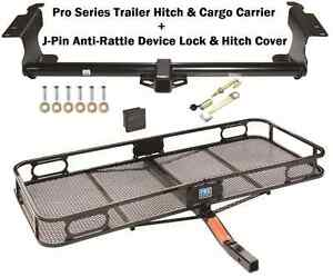 Trailer Hitch Fits 99 16 Honda Odyssey Cargo Basket Carrier Silent Hitch Pin