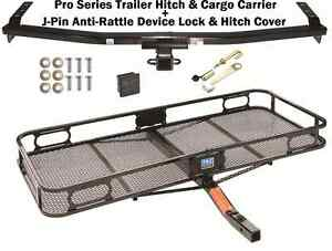 Trailer Hitch Fits 03 08 Honda Pilot Cargo Basket Carrier Silent Hitch Pin