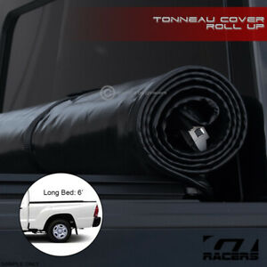 For 2005 2015 Toyota Tacoma 6 Ft 72 Truck Bed Lock Roll Up Soft Tonneau Cover